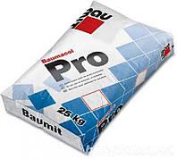 Клеящая смесь тиксотропная  для  керамогранита и напольных плит Baumit Pro 25кг