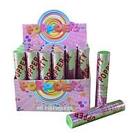 Хлопушка Angel Gift 20 см, конфети фольга