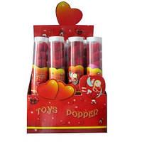 Хлопушка Angel Gift 40 см, конфити игрушки-сердечка