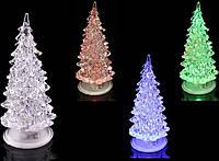 Новогоднее украшение Lefard Елочка 20 см с подсветкой 786-006