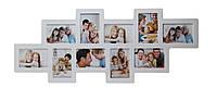 Мультирамка для фото Angel Gifts 10 в 1 белая BIN-112122 (w)