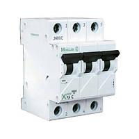 Автоматический выключатель PL4-C63⁄3 х-ка С Eaton (Moeller)