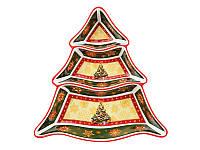 Менажница Lefard Дед Мороз 25 см 586-053