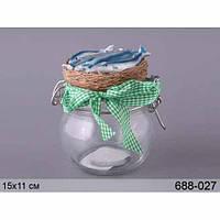 Банка для пищевых продуктов Galileo spa 15х11 см без упаковки 688-027