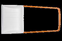 Скрепер-волокушка лопата для уборки снега Fiskars SnowXpert 143022