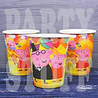 Одноразовые стаканчики Свинка Пеппа, 10 шт
