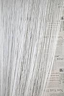 Шторы нити Однотонные Лайт №1 Белый