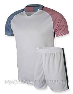 Футбольная форма Europaw 012 белая, фото 2