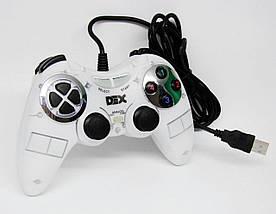 Проводной геймпад. Игровой манипулятор (джойстик) PC 892S. Геймпад dex 9001, pc 892s., фото 2