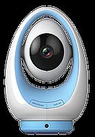 IP поворотная Wi-Fi видеокамера-регистратор Foscam Fosbaby P1 (IP-няня) blue
