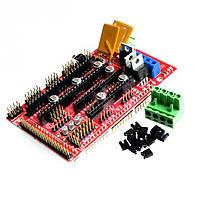 Модуль-драйвер шагового двигателя RAMPS 1.4 Arduino Shield
