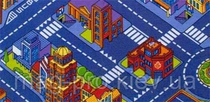 Детский ковер с дорогами Большой город 3х4, фото 2