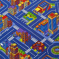 Детский ковер с дорогами Большой город 3х4