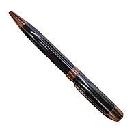 Ручка шариковая ЗОЛОТАЯ ЛАТУНЬ, синяя