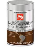 MonoArabica Brazil Illy 250 грм(Зерно)Италия.