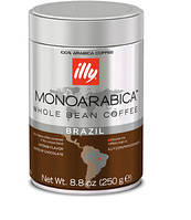 Кофе Илли зерно MonoArabica Brazil Illy 250 грм Италия.
