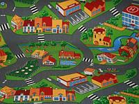Детский ковер  с дорогами Деревня 2х3