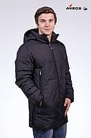 Куртка мужская пуховик Avecs AV-0110 Black Авекс Размеры S (46) XL (52) XXL (54)