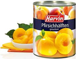 Персики Harvin дольки (820г)