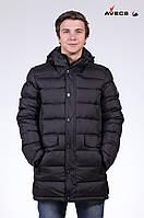 Куртка мужская пуховик Avecs AV-925 Black Авекс Размеры 52