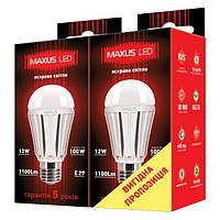 336-01 МР2 Лампа LED А65 12W 4100K 220 V Е27 AР(2шт)