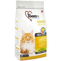 1st Choice (Фест Чойс) MATURE-LESS ACTIVE 5.44кг - корм для стареющих и малоактивных кошек (курица)