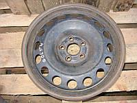 Диск колесный стальной R16 (61/2J*16H2 ET42) б/у на VW Golf 4 год 1997-2003