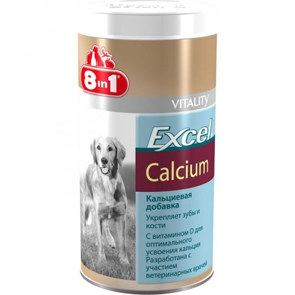 8in1 Excel Calcium 155 шт  - добавка с кальцием и вит. D для щенков и взрослых собак