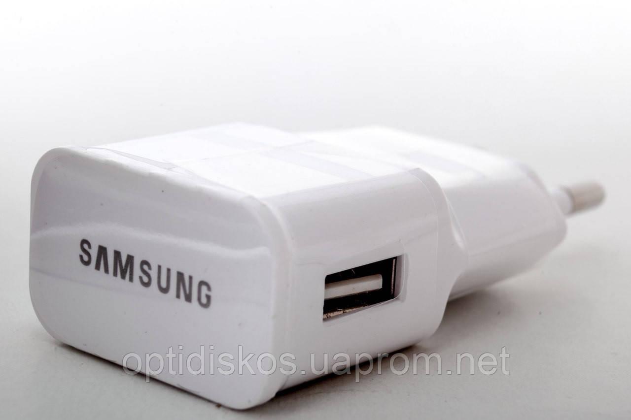 Переходник от сети для USB устройств, Samsung, 2A (оригинал)