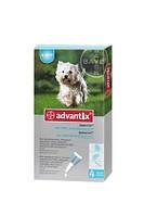 Bayer ADVANTIX от 4 до 10 кг - Байер АДВАНТИКС - средство от блох и клещей для собак, 1 пипетка