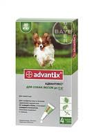 Bayer Advantix капли для собак до 4 кг, 1 пипетка