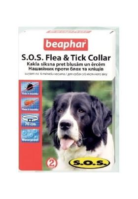 Beaphar Ошейник от блох и клещей SOS для крупных пород, 70 см