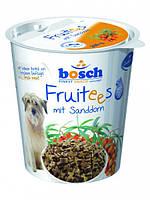 Bosch Fruitees mit Sanddom 200 г - лакомство для собак с облепихой