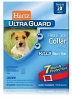 Hartz (Хартц) Ultra Guard Flea&Tick Collar for Dogs, 51см-ошейник от блох и клещейдля собак на 7мес (красный)