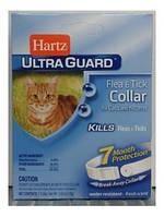 Hartz Ultra Guard Ошейник от блох и клещей для котов белый, 35 см