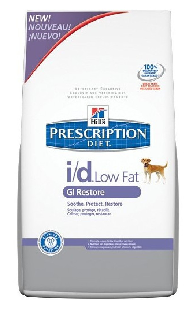 Hill`s PD Canine I/D Low Fat  12 кг