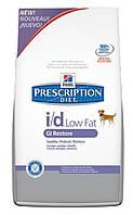 Hill`s (Хиллс) PD Canine I/D Low Fat - лечебный корм для собак с низким содержанием жира, 1.5кг