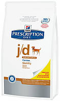 Hills PD Canine J/D Reduced Calorie, 12кг