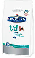 Hills Prescription Diet Canine T/D mini, 3 кг
