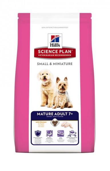Hill`s SP MATURE ADULT Small & Miniature 1.5 кг - корм для собак мелких пород от 7 лет