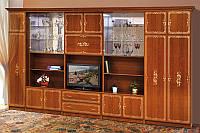 Мебель для гостинной Версаль 6, мебельные стенки для гостиной классика, 4166*2260*610