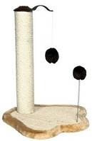Trixie Когтеточка (дряпка) для кошки с меховым шариком, 50см