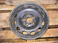 Диск колесный стальной 7M0601027A (6Jx15H2 ET55) б/у на Audi, Ford Galaxy, Seat Alhambra, VW Sharan 95-06 год