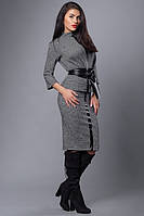 Современный костюм под черный пояс