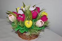 Букет из конфет Весенние крокусы