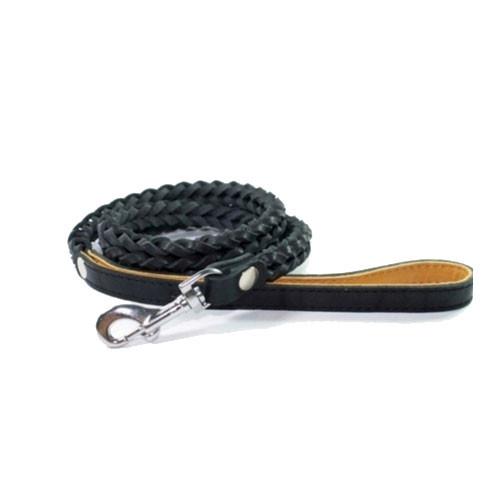 Поводок Collar квадратное плетение 05281 чёрный