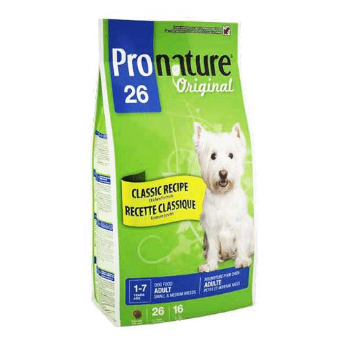 Pronature Original SMALL & MEDIUM Adult 16 кг - корм для собак мелких и средних пород (курица/рис)