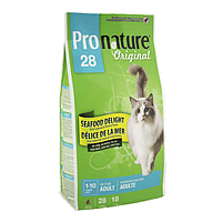 Pronature Original (Пронатюр) Cat ADULT SEAFOOD DELIGHT - корм для кошек (рыба), 5.44кг