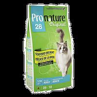 Pronature Original (Пронатюр) Cat ADULT SEAFOOD DELIGHT 5.44кг - корм для кошек (рыба)