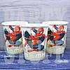 Бумажные стаканчики одноразовые Человек Паук,10 шт